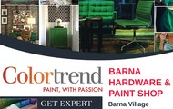 Barna Hardware & Paint Shop Magazine Ad