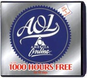 AOL'S 1000 HOURS OF FREE INTERNET