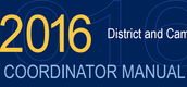 The 2016 District and Campus Coordinator Manual is Posted!