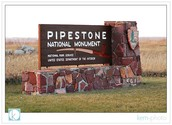 Why did Sal go to Pipestone National Monument?
