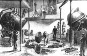 Unha revolución industrial tardia e lenta