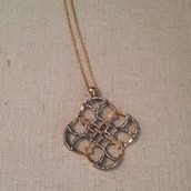 SOLD--Wesley Pendant $45