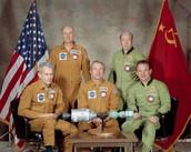 The Official Apollo-Soyuz Crew