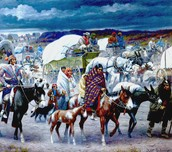 What happened in order to form the Trail of Tears