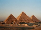 This is a few of the Egypt Pyramids