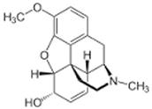 Codeine Chemical Formula