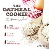 Oatmeal Cookie Diffuser Blend