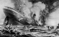Ship being Sunk