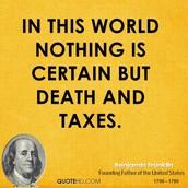 Taxes: