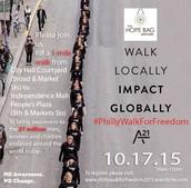 A Walk to End Human Trafficking