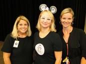 Jenni Holm with Mrs. Mainz and Mrs. Martin