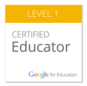 Interested in Earning your Google Educator Certification?