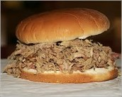 BBQ SANDWICHES AND BBQ BY THE POUND