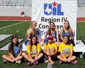 Girls Track Stars Competed at Regionals!