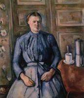 Donna con caffettiera, Cézanne, 1895