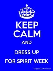 SPIRIT WEEK!!!
