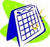 Summer Calendar of Events