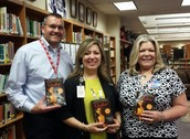 HEB donated 500 copies of Coraline by Neil Gaiman for ECISD AVID Students