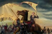 Joan of arc was a skilled warrior