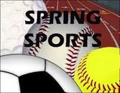 Spring Schedules additions and cancelations