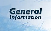 Genral Information!