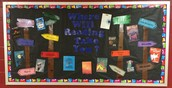 A year's worth of bulletin boards