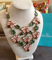 Fleurette Statement Necklace $60