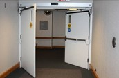 Double Action door