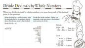 How to divide by whole numbers