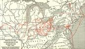 Underground Railroad Route