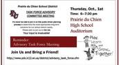 Advisory Task Force Meeting!