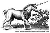 Asi se representaban antes los unicornios