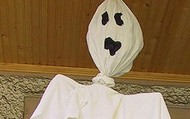 Fake ghost.