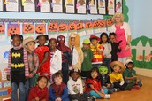 Mrs. Warner and her Kindergarten