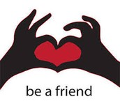 Be a friend not a bully its not cool