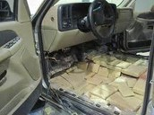 Drugs hidden in an SUV