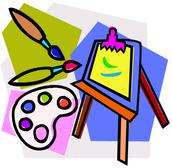 Soy buena en el dibujo y la pintura