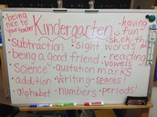 All things Kindergarten!