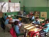 La clase primero de República Dominicana