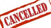 Data Talks Cancelled