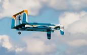 One of Amazon's drones