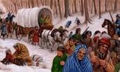 Trail of teers