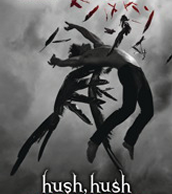 The cover for Hush, Hush.