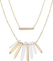 Rebel cluster Necklace