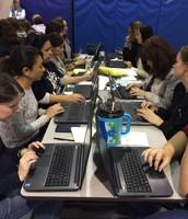 Teachers prepare for the Hour of Code next week