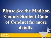 MADISON COUNTY STUDENT CODE OF CONDUCT