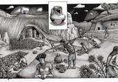 Anasazi( ancestors of Pueblo) 500-1200bc