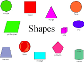 Study your 2D and 3D Shapes!