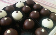 Special Dipping Dark Chocolate Truffles