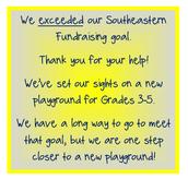 Next Goal: New 3-5 Playground